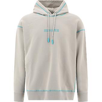 Marcelo Burlon Cmbb095e20fle016145 Men's Beige Cotton Sweatshirt