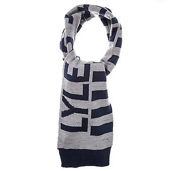 Accessories Lyle And Scott Neutral Stripe Scarf in Grey
