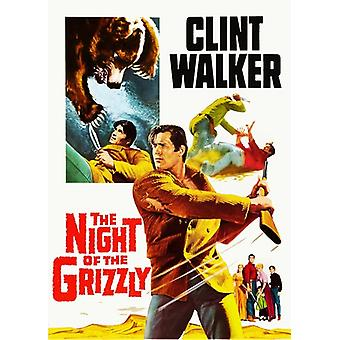 Night of the Grizzly (1966) [DVD] USA import