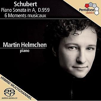 F. Schubert - Schubert: Piano Sonata in a, D. 959; 6 Moments Musicaux [SACD] USA import