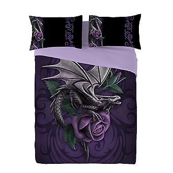 Wild Star - Drachen Schönheit-Bettdecke & Kissenbezüge Set Superking