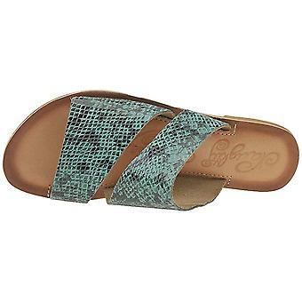 Naughty Monkey Women's Spirited Turquoise Sandals