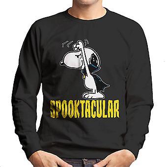 Jordnötter Spooktacular Halloween Snobben män ' s tröja