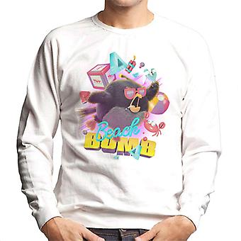 Angry Birds Beach Bomb Men's Sweatshirt