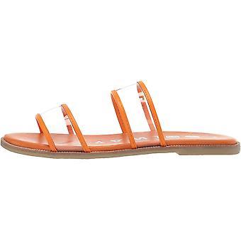 Coolway Women's Shoes Merci Peep Toe Casual Slide Sandals