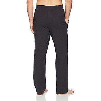 Essentials Men's Knit Pyjama Pant, Charcoal Heather, Medium