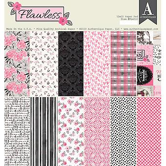 Authentique Flawless 12x12 pulgadas De papel Pad