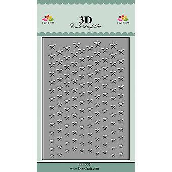 Dossier de gaufrage Dixi Craft Stars 2