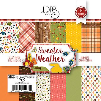 LDRS Creative Sweater Weather 6x6 Inch Paper Pack