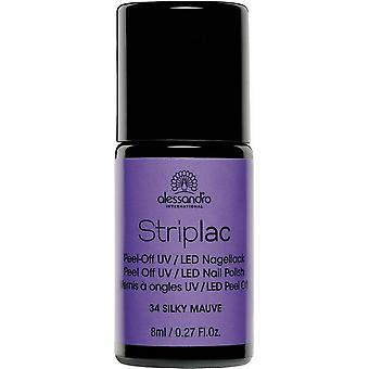 StripLAC Peel Off UV LED Nail Polish - Silky Mauve 8ml (34)