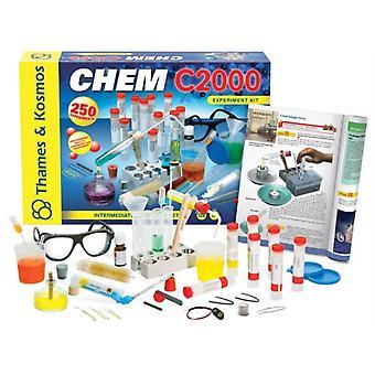 16855, Thames e Kosmos Chem C3000 Kit Chimico (V 2.0)
