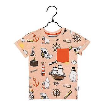 Moomin Ommuurde T-shirt (Coral)