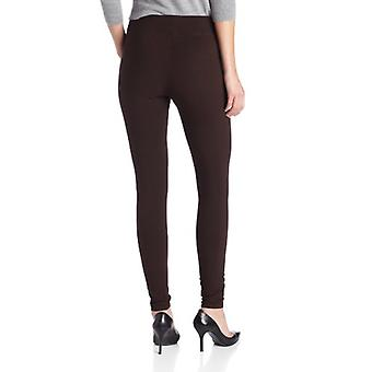 Hue Women's Ultra Legging with Wide Waistband - Small - Espresso