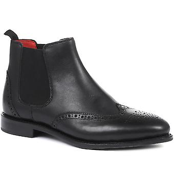 Jones Bootmaker Womens Veronica Goodyear Gelast Leer Chelsea Boots