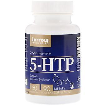 Formules Jarrow, 5-HTP, 50 mg, 90 Bonnets végétariens