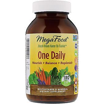 MegaFood, Één dagelijks, 180 tabletten