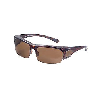 Sunglasses Unisex brown with brown lens VZ0008B