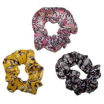Scrunchies - Looney Tunes - 3 Pack Licensed hh6fkulnt