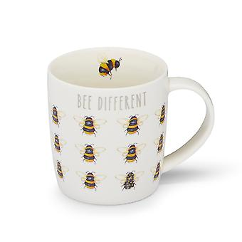Cooksmart Bumble Bees Barrel Mug, Bee Different