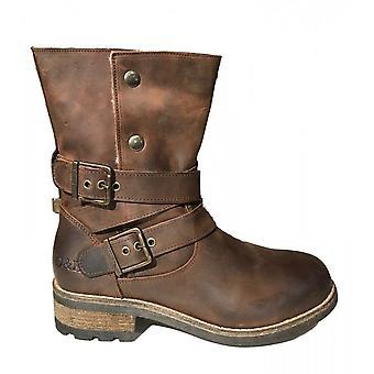 Oak & Hyde Bridge Demi Premium Leather Boot (brown)