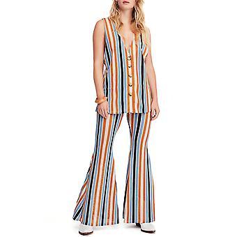 Free People | Bridget Striped Vest & Pant Set