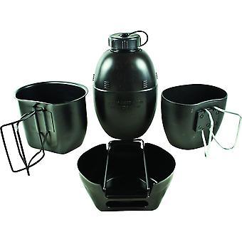 BCB Crusader Cooking System II Half Set 6 Piece Aluminium PTFE Coated