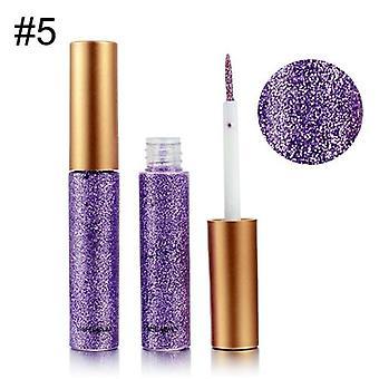 Impermeabil de lungă durată Shimmer metalizat lichid eyeshadow Glitter Pen