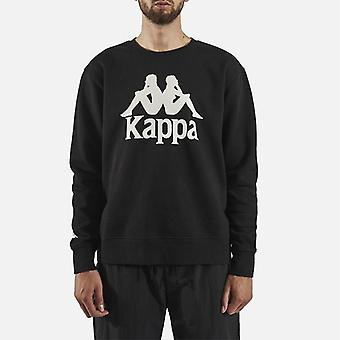 Kappa Authentieke Telas 2 Crew Neck Sweater - Zwart