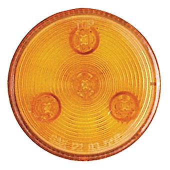 "Optronics MCL-57AK Amber 2-1/2"" Led Marker/Clearance Light Amber"