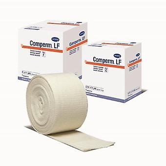 Hartmann Tubular Support Bandage Comperm 3 Inch X 11 Yard Standard Compression Pull On Natural Size D NonSte, 1 Count