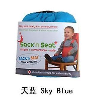 Baby Chair Travel Foldable Washable Dining Seat Cover Safety Belt Baby Feeding Care Accessories