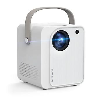 Blitzwolf BW-VP7 Mini LCD Projector with Speaker - Mini Beamer Home Media Player - 5000 Lumen - White
