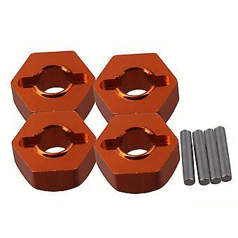 4PCS Orange 113696 Wheel Hex Mount for HPI RS4 SPORT3 RC1:10 On Road Car