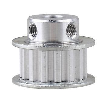 Direkt Begagnad XL Typ 8mm 15 tänder aluminium kuggrem Remskivor sidor med revben