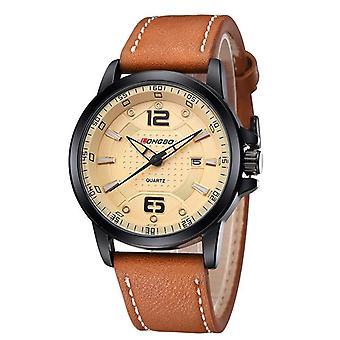 LONGBO 80212 Män Titta Luminous Casual Fashion Style Kvarts wrist watch