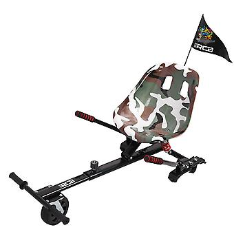 RCB Hoverkart for Hoverboard,Go-Kart Accessories of Self Balancing Scooter, 6.5 8 8.5 10 inches for Adults kids