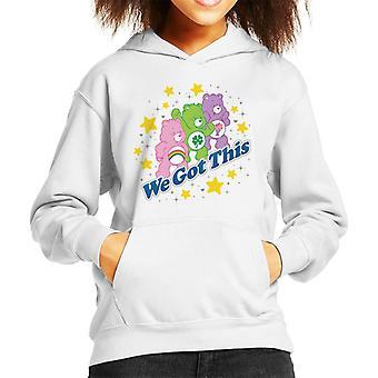 Pflege Bären Share Bear Wir haben dieses Kind's Kapuzen Sweatshirt