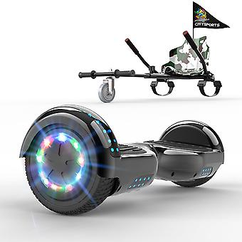 Right Choice Hoverboard Christmas Gift for kids Self Balancing Scooter-LED Wheels-Bluetooth Speakers with Adjustable Hoverkart