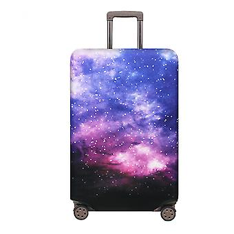 Galaxy Printed Travel Luggage Protector