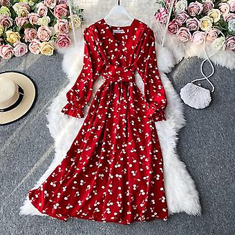 Strawberry Dress Cherry Kawaii Embroidery Puff Sleeve Dress