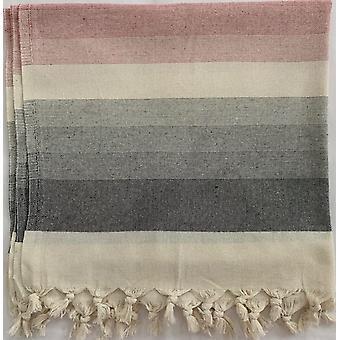 Aqua Perla otomana toalla turca rosa algodón peshtemal