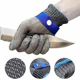 Stainless Steel Gloves, Working Safety, Metal Mesh, Anti Cutting