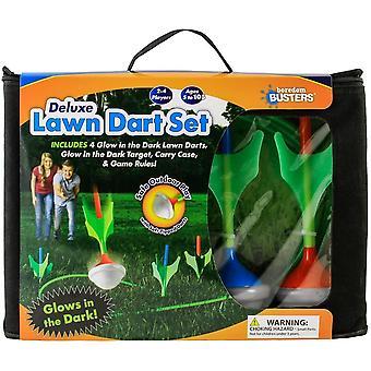 Deluxe lawn dart - glow in the dark set