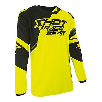 Shot Contact Claw Yellow Adults MX Jersey