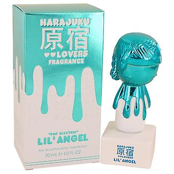 Harajuku Lovers Pop Electric Lil' Angel by Gwen Stefani Eau De Parfum Spray 1 oz / 30 ml (Women)