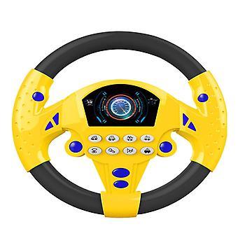Simulation Small Steering Wheel Copilots Steering