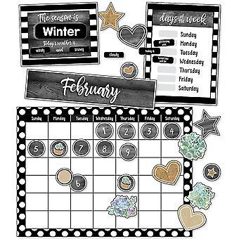 Simply Stylish Calendar Bulletin Board Set