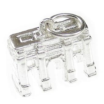 Marble Arch Sterling Silver Charm .925 X 1 London Landmark Charms - 7616