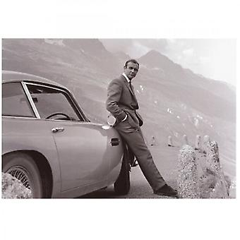 Larrini  James Bond Aston Martin Art Print Goldfinger