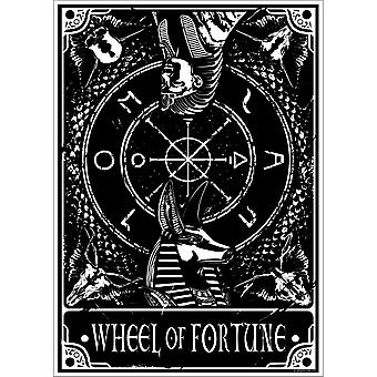 Deadly Tarot Wheel Of Fortune Mini Poster
